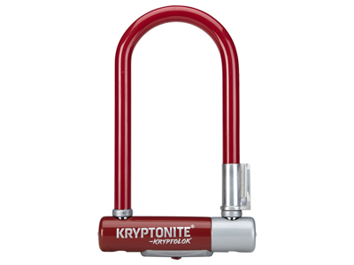 Kryptonite bøjlelås - Kryptolok 2 Mini 7 - U-Lock 8,2x17,8cm - Merlot