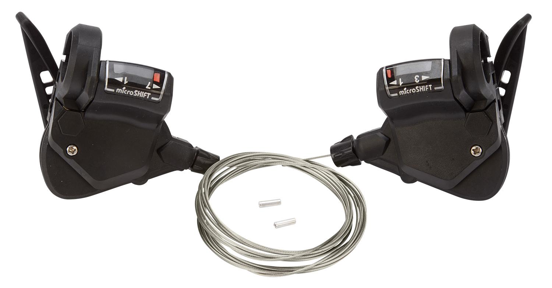 Microshift - Skiftegrebssæt til 3 x 7 gear | Gear levers