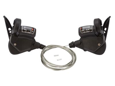 Microshift - Skiftegrebssæt til  3 x 7 gear