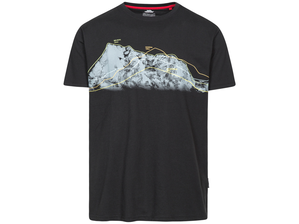 Trespass Cashing - T-Shirt quick dry - Str. S - Sort thumbnail