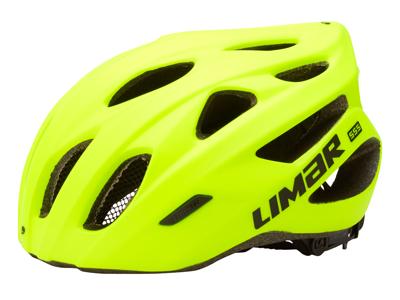 Limar 555 - Cykelhjelm til race - Mat neongul