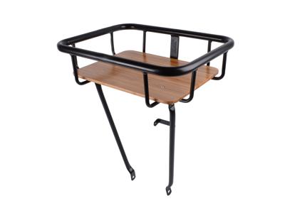 Atran Cargo Jumbo Basket - Frontbagasjebrett med trebunn - Svart