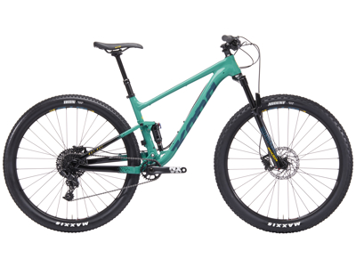 "Kona - Hei Hei - MTB - 29"" Full Suspension - 11 gear - Turkis"