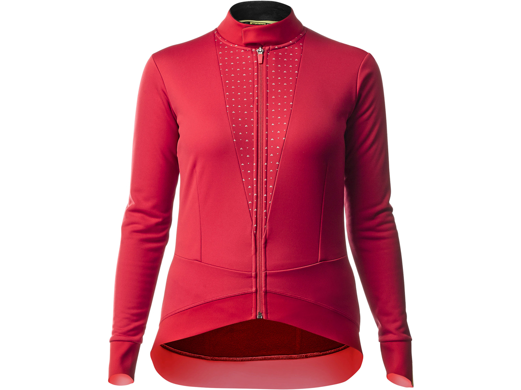 Mavic Sequence Thermo Jacket - Dame cykeljakke - Rød - Str. S thumbnail