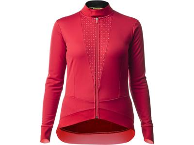 Mavic Sequence Thermo Jacket - Cykeljacka för kvinnor - Röd