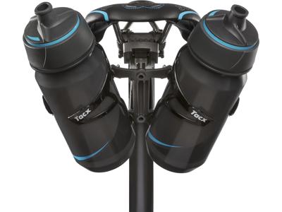 Tacx - Quick release - Till montering bakom sadeln till 1 eller 2 flaskhållare