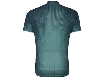 Odlo Element Print - Cykeltrøje med korte ærmer - Herre - Dark slate