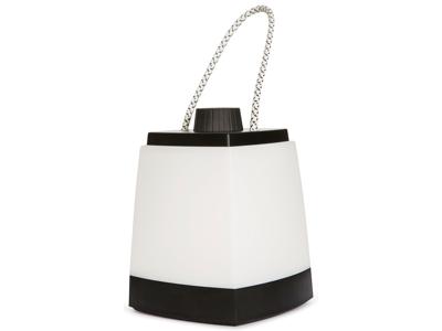 Trespass Shinin - Camping-lanterne med lommelygte - Hvid