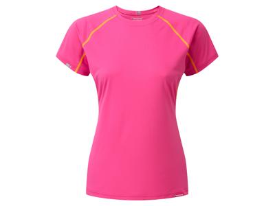 Montane Womens Sonic T-Shirt - Vandre-T-Shirt Dame - Pink