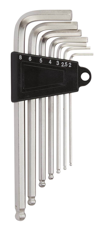 Atredo - Unbrakonøgle sæt - 2-8 mm - 7 stk   tools_component