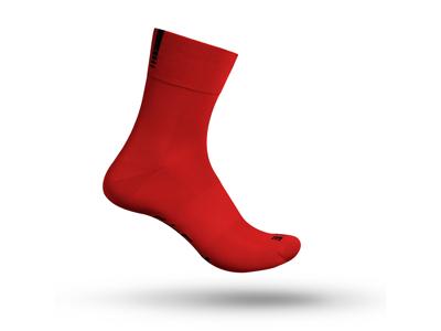 GripGrab 3013 lettvekter SL - Sykkelstrømpe - rød