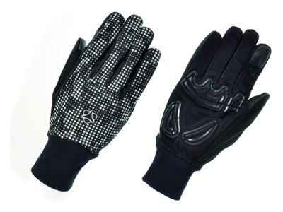 AGU GLOVE WINDPROOF II HIVIS L