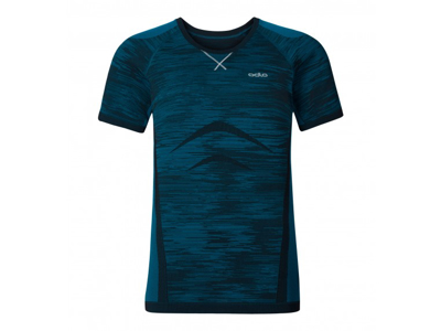 Odlo Evolution Light Blackcomb - Basis t-shirt - Blå