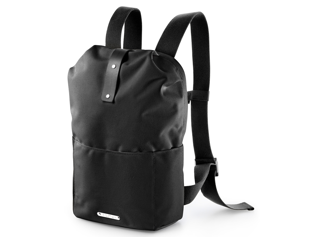 Image of   Brooks - Dalston Knap Sack med lynlås - Sort Small/12 liter