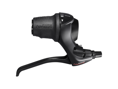 Shimano Nexus - Revo Greb med bremsegreb - 8 Gear inklusiv gearwire med yderkabel