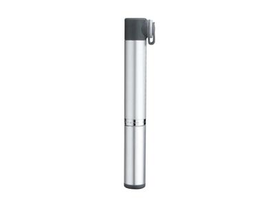 Topeak Micro Rocket AL - Minipumpe - 11 bar / 160 psi - Grå/sølv