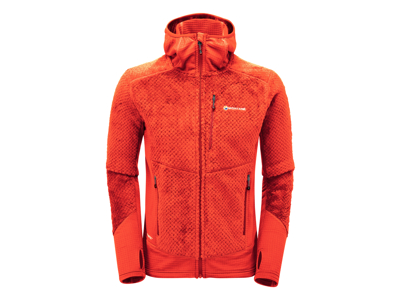 Montane Wolf Hoodie - Fleecejacka - Män - Orange - Str. M