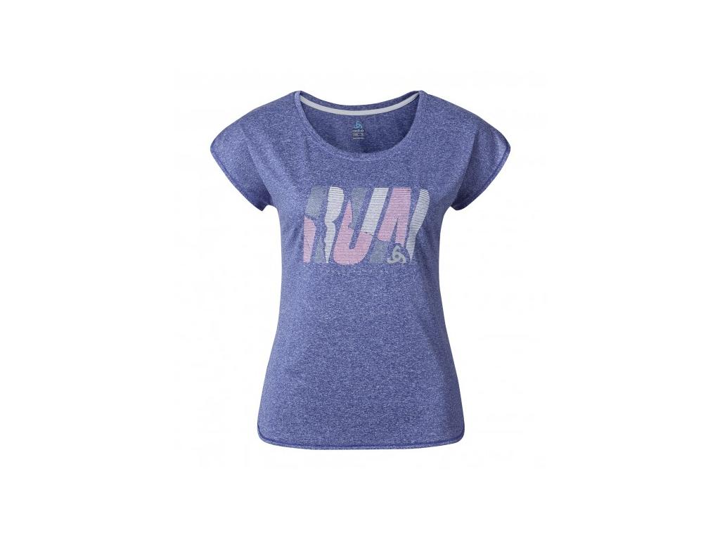 Odlo - Tebe - Løbe t-shirt - Dame - Lilla - Str. XL thumbnail