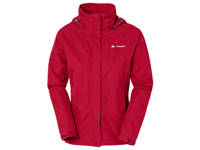 Vaude Womens Escape Light Jacket - Vandtæt damejakke - Rød