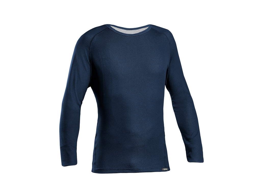 Image of   GripGrab Ride Thermal Base Layer - Svedundertrøje L/Æ - Navy blå - Str. M