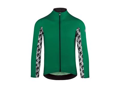Assos Mille GT Summer Jersey - Cykeltrøje m. lange ærmer - Grøn