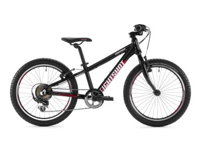 "Eightshot X-Coady 20 - MTB Børnecykel 20"" - Sort/rød/hvid"