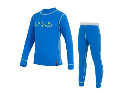 Sensor Double Face - Skidunderkläder till barn - Blå