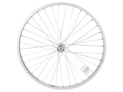 """Ryde 26"""" forhjul - Aluminiumsfælg - 25-559 - Gevind - Sølv"""