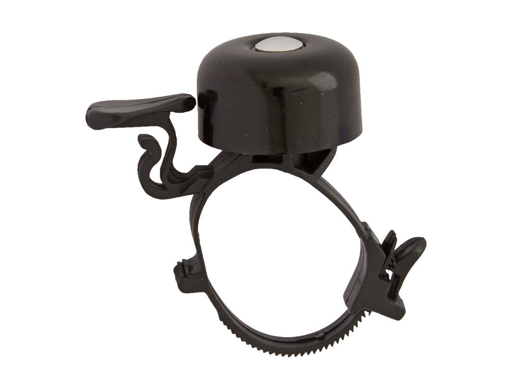 Atredo - Miniringeklokke - Med justerbar kabelstrip - Sort thumbnail
