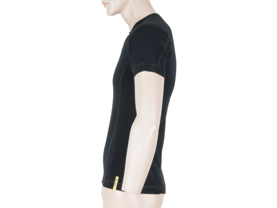 Sensor Merino DF Tee SS - Uld T-shirt - Herre - Sort