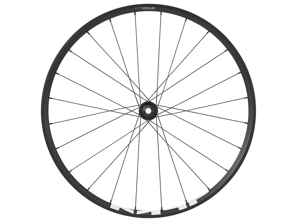 """Shimano forhjul - 27,5"""" MTB WH-MT500 - til E-Thru 15x100mm aksel - Skivebremser"""
