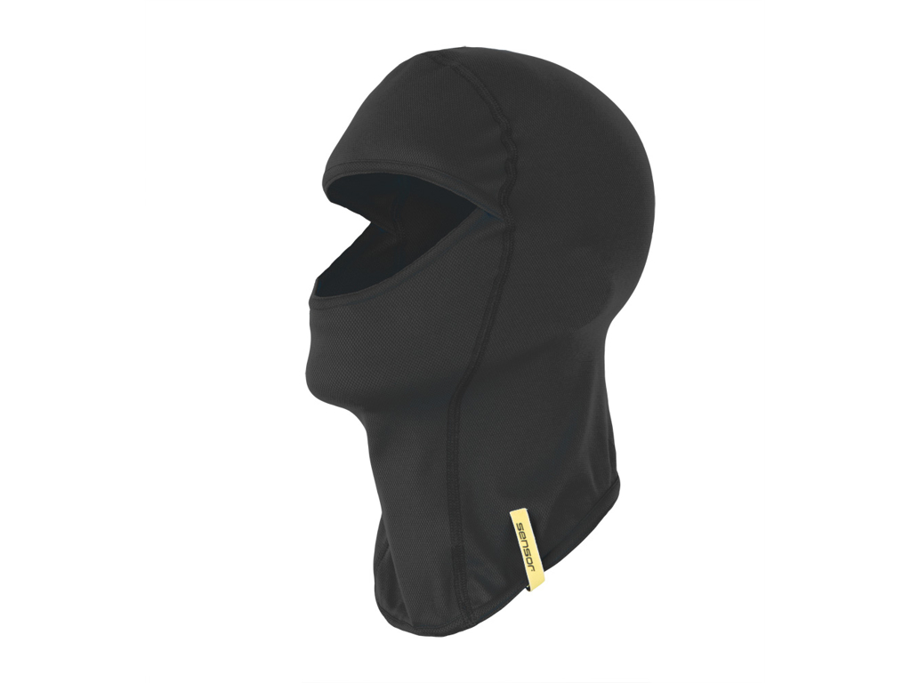 Image of   Sensor thermo balaclava - Sort - Str. large