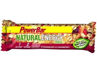 Powerbar - Natural Energy - Energibar - Jordgubb/Tranbär - 40 gram