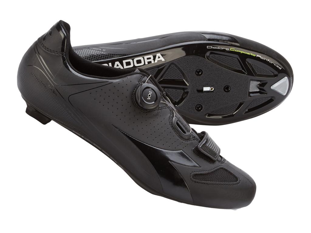 Image of   Diadora - Cykelsko Vortex Racer II Unisex - Str. 38 - Sort