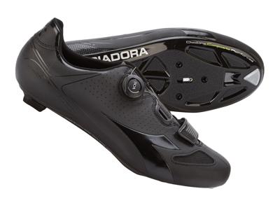 Diadora - Cykelsko Vortex Racer II Unisex - Str. 47 - Sort