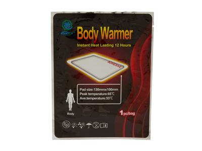 Muskel- og kropsvarmer - Selvklæbende - 10 x 13 cm - 1 stk.