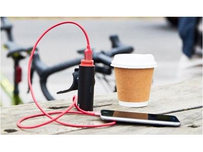 Knog - Cykellykta PWR Rider - 450 lumen - Svart - USB uppladdningsbar - Powerbank funktion