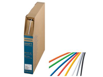 Shimano yderkabel SLR - Til bremsekabel/Wire - 40 meter - 5mm i diameter - Hvid