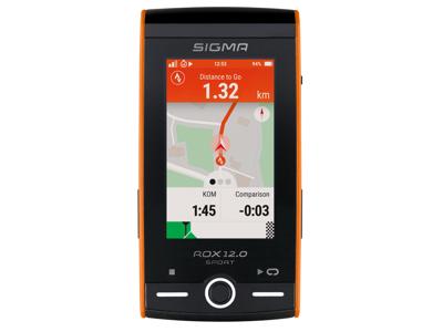 Sigma ROX 12.0 Sport - Cykelcomputer med GPS - Hvid