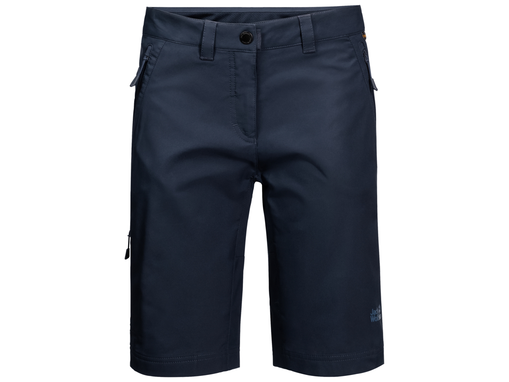 Jack Wolfskin Activate Track Shorts - Dame Str. 40 - Midnight blue thumbnail