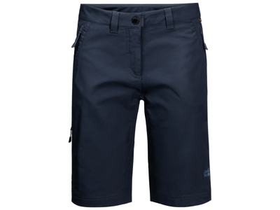 Jack Wolfskin Activate Track Shorts - Dame - Mørkeblå