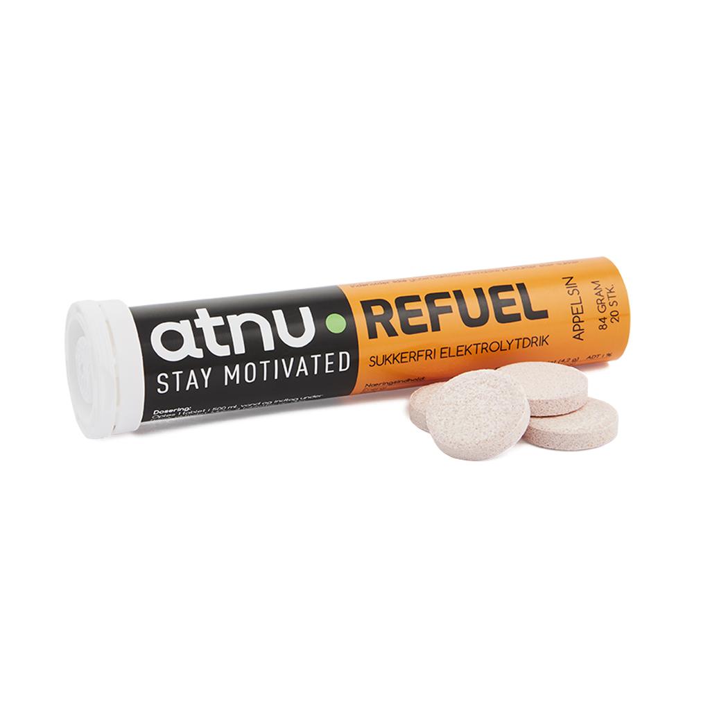 Atnu Refule Elektrolyttabs - Appelsin - 20 tabs | Tabs