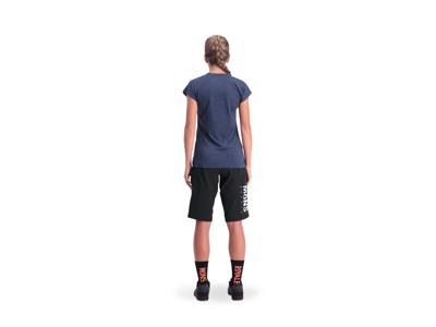 MONS ROYALE Zephyr Lite Tee - Cykeltröja - Kvinnor - Grå / blå