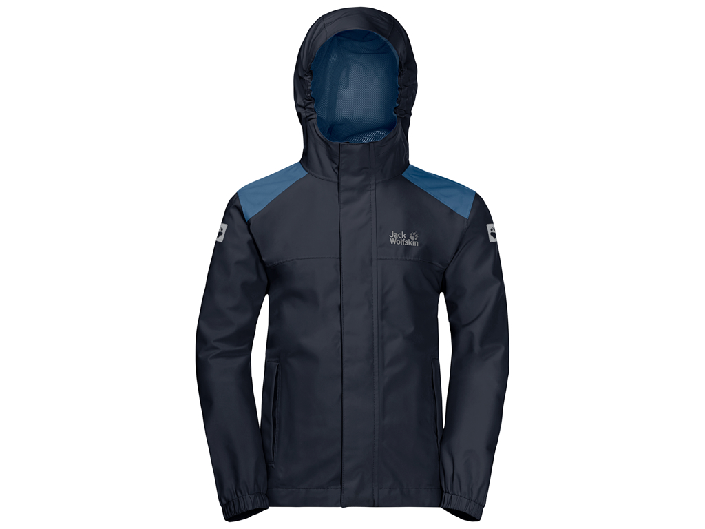 Jack Wolfskin Oak Creek Skaljakke - Kids Str. 140 - Night blue thumbnail