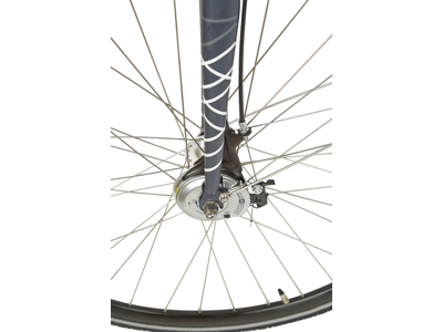 Micado Sport RB - Citybike - Dame - 7 gear - Rullebremser - Matgrå