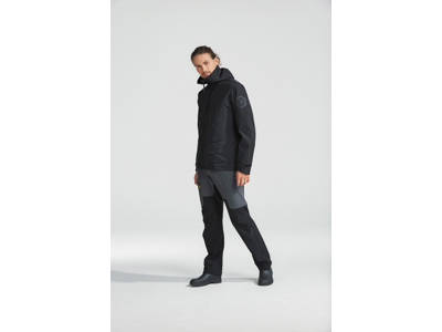 Didriksons Trent Mens Jacket - Vandtætjakke Mand - Sort