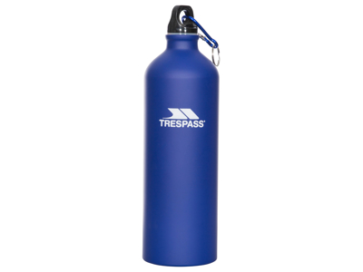 Trespass Slurp - Flaska aluminium - 1 liter - Matt blå
