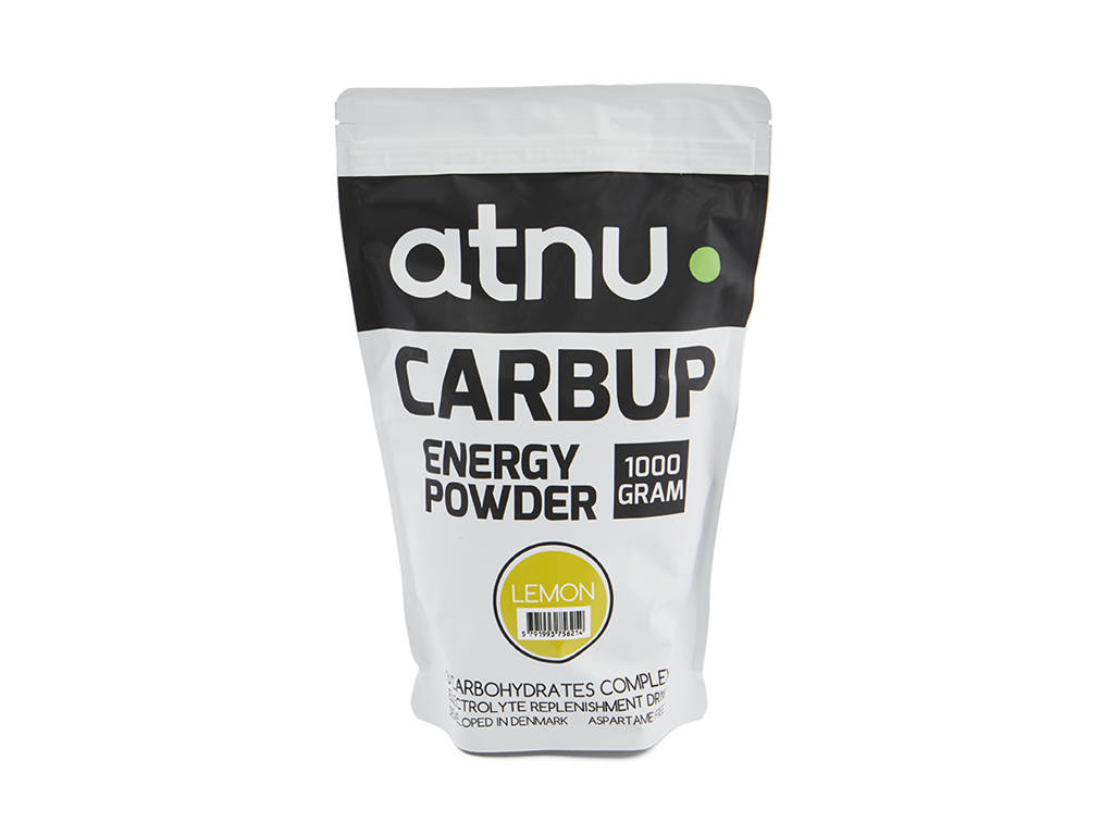 Image of Atnu Carbup Energipulver - Lemon - 1000 gram
