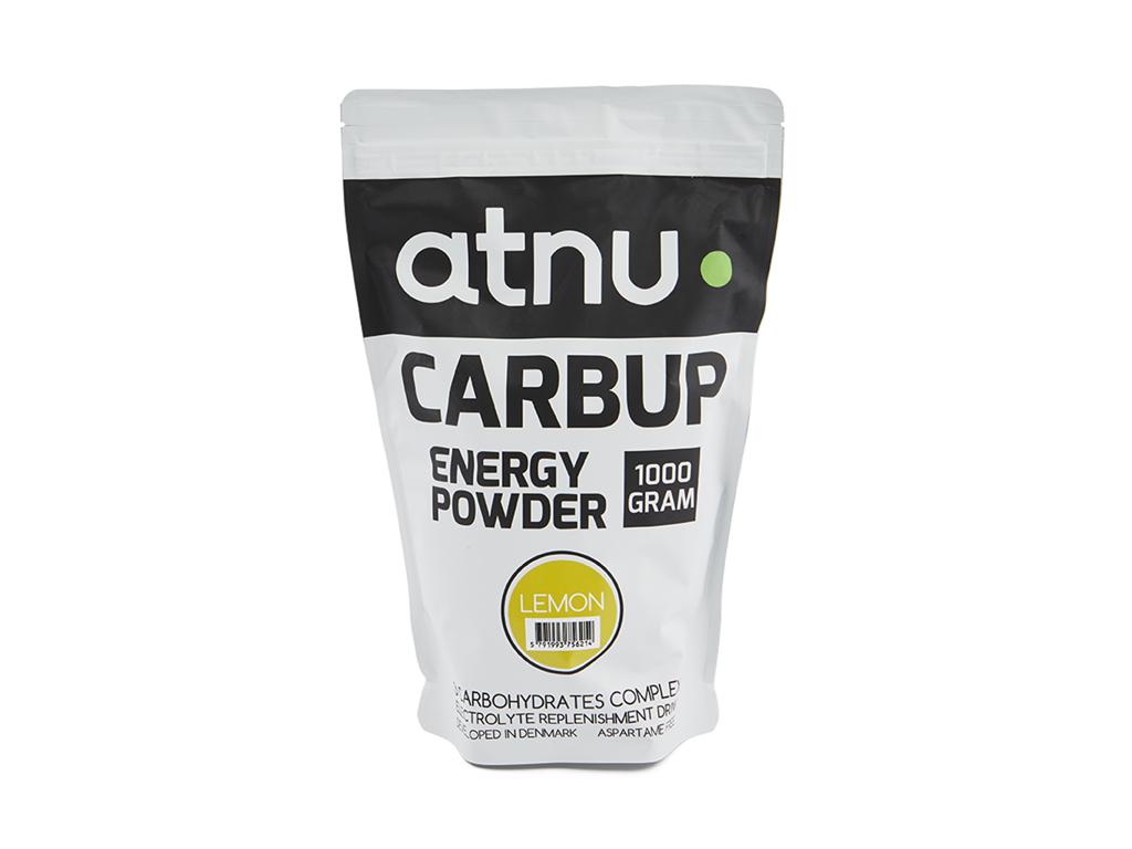 Atnu Carbup Energipulver - Lemon - 1000 gram thumbnail