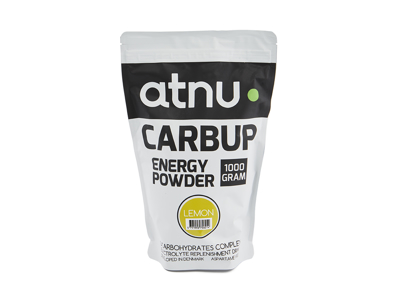 Atnu Carbup Energipulver - Lemon - 1000 gram